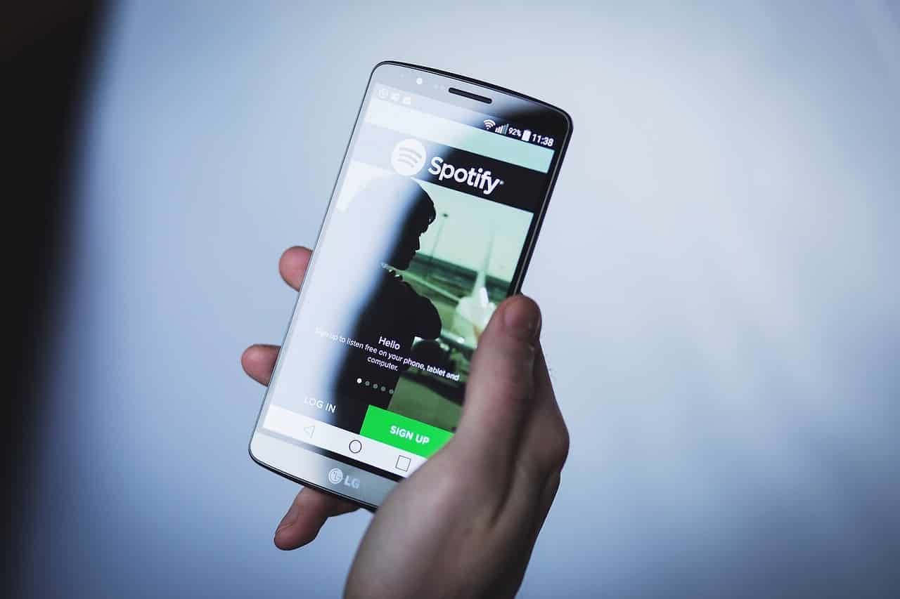 smarthpone spotify mobile