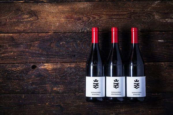 szekszárd wine bottle