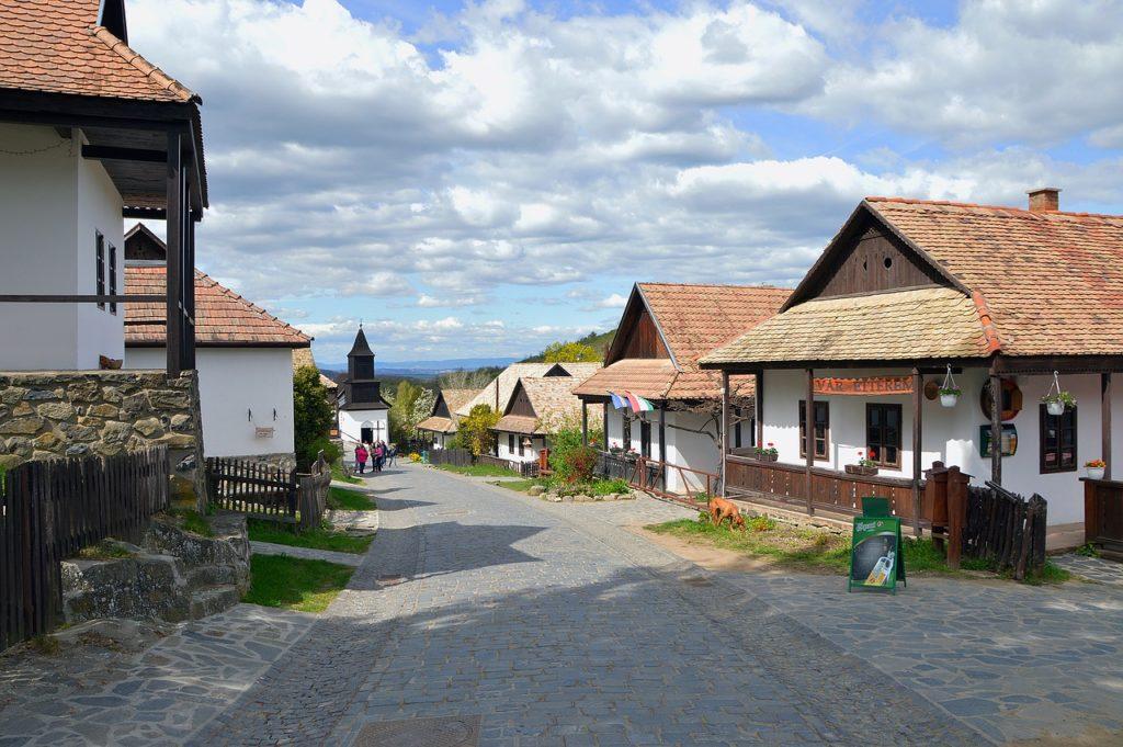 Hollókő, Hungary, village