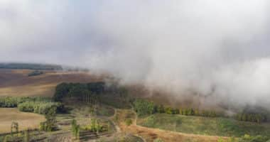 hungary weather fog