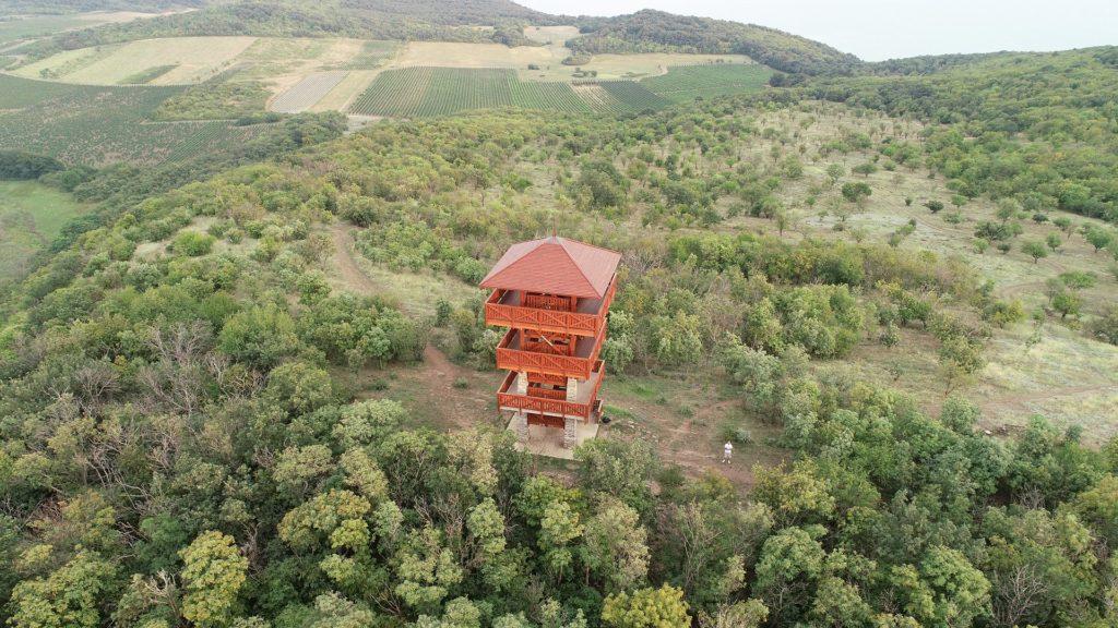 Őrtorony, viewpoint, Balaton, Hungary