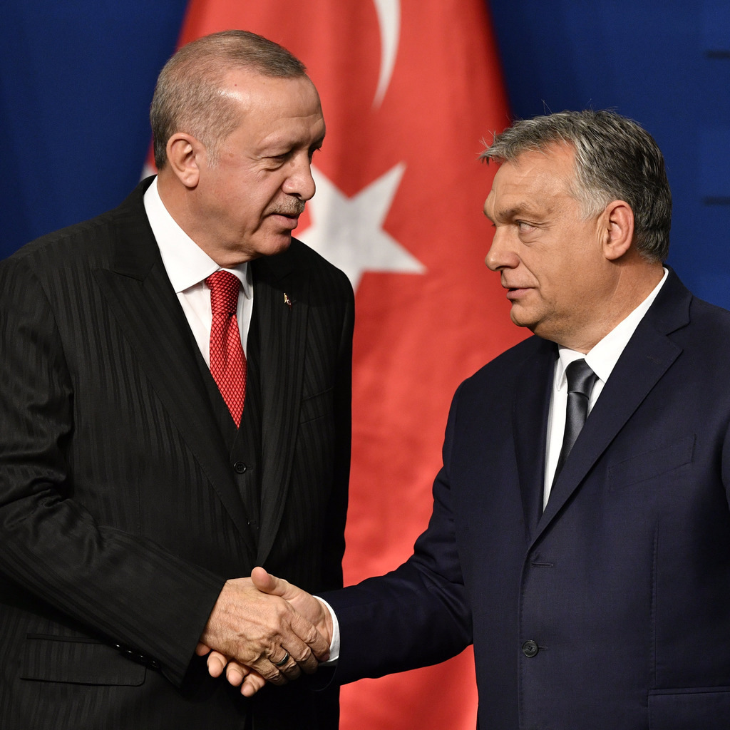 Erdogan and Orbán Hungary Turkey