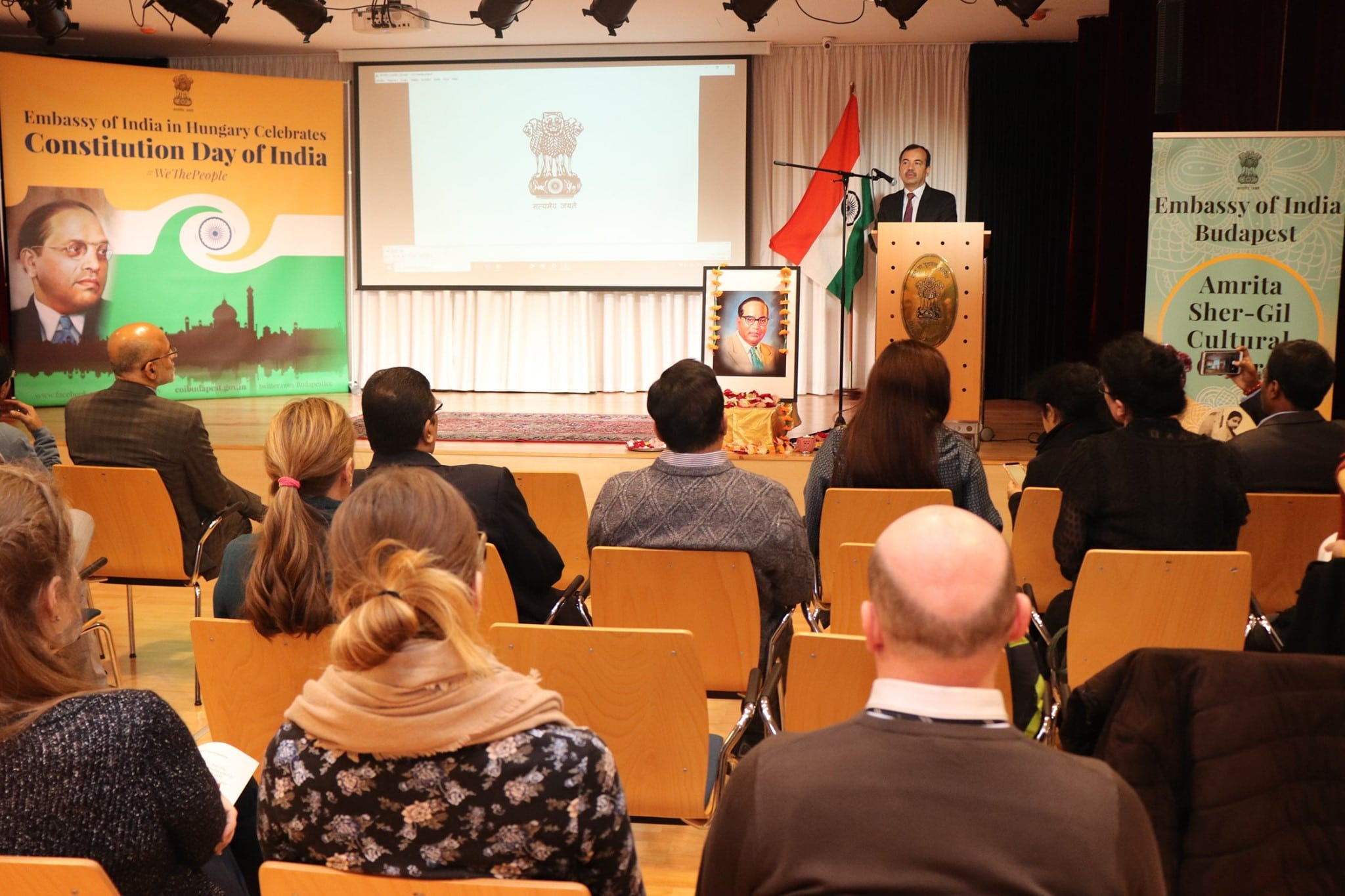 70th Constitution Day Of India was celebrated in Budapest
