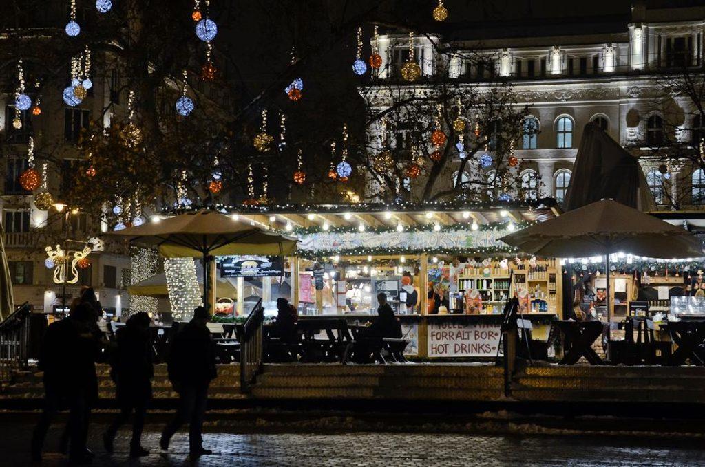 Budapest, Christmas, market, Hungary