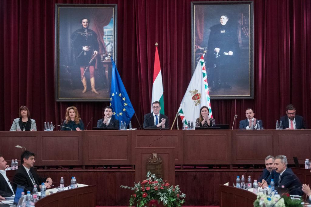 Budapest's new deputy mayors