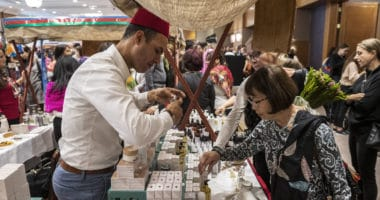 9th Diplomatic Fair 2019 organized by Diplomatic Spouses of Budapest - Morocco