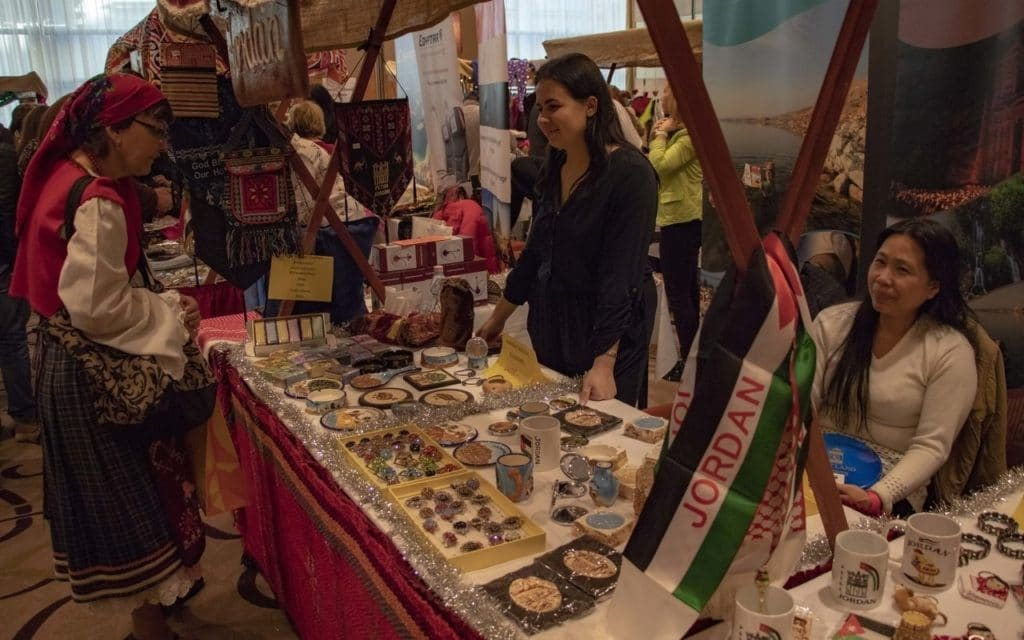 Jordan - 9th Diplomatic Fair 2019 organized by Diplomatic Spouses of Budapest