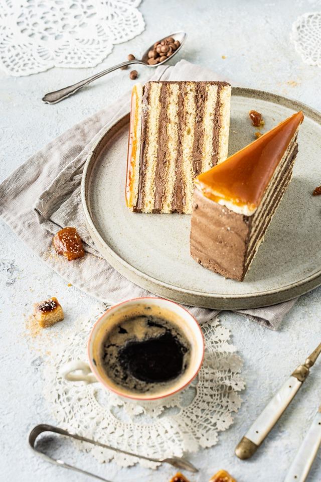 Dobos Cake, Hungary, Hungarikum, cake