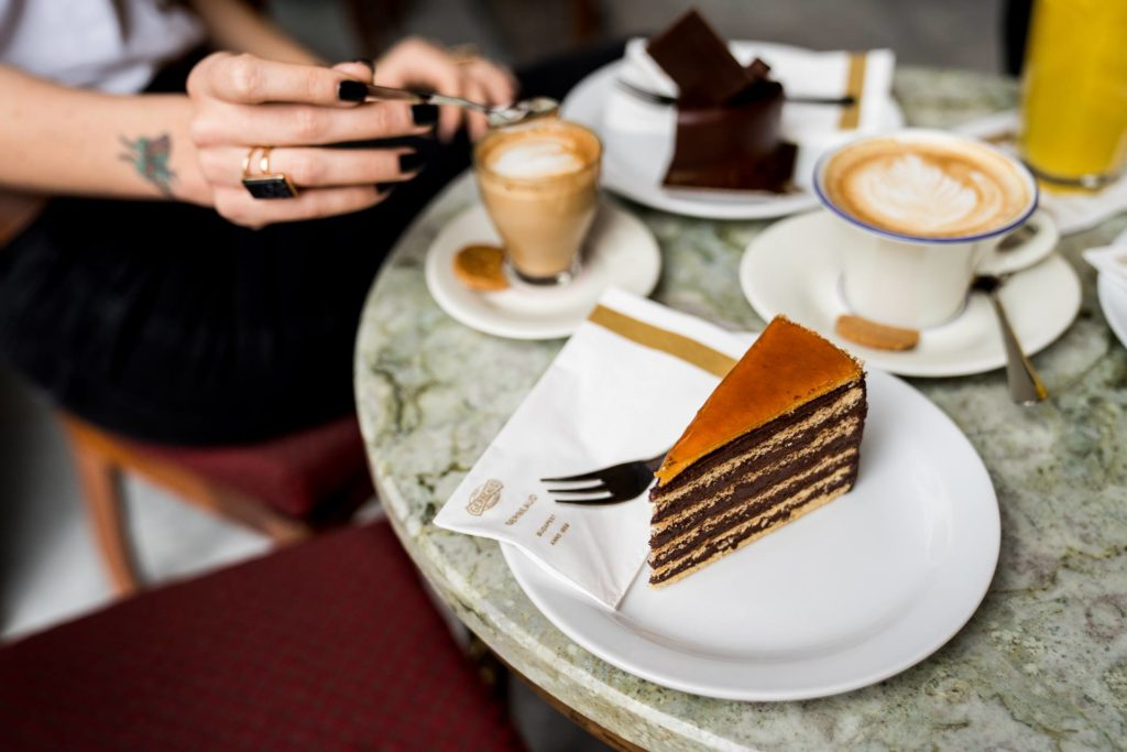 Dobos Cake, cafe, Gerbeaud, Hungary, Hungarikum