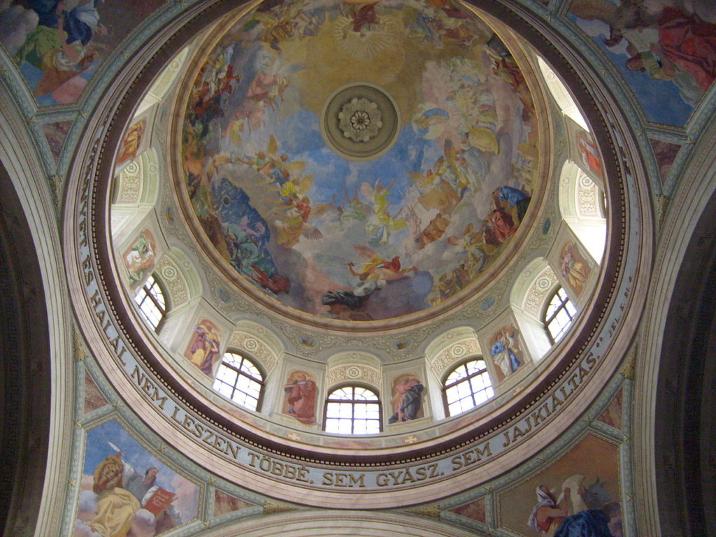 Eger, basilica, view, interior, building