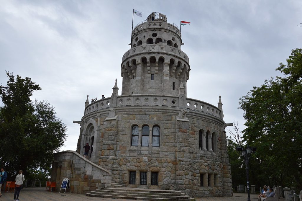 Elizabeth, viewpoint, Budapest, Hungary