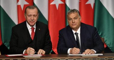 Erdogan and Orbán Hungary Turkey