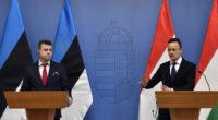 Estonian FM Urmas Reinsalu visits Hungary
