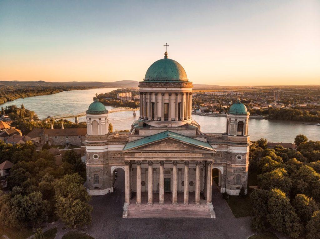Esztergom, Basilica, view, building