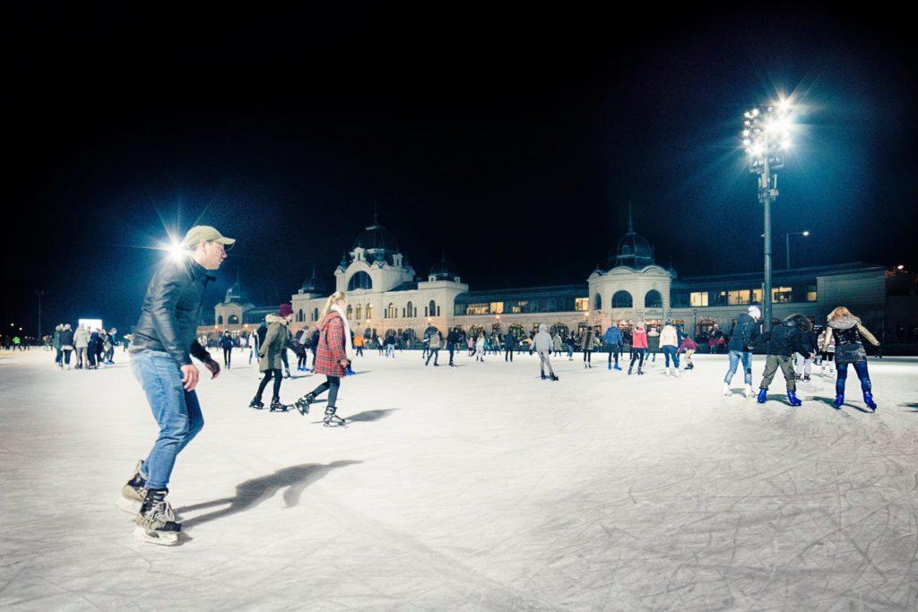 Ice Rink, Budapest, City Park