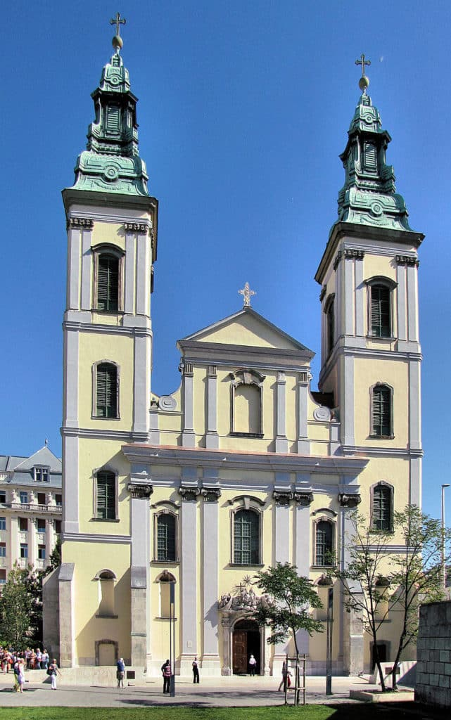 Inner City Parish Church, Budapest, Hungary