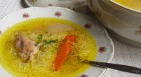 Húsleves chicken soup