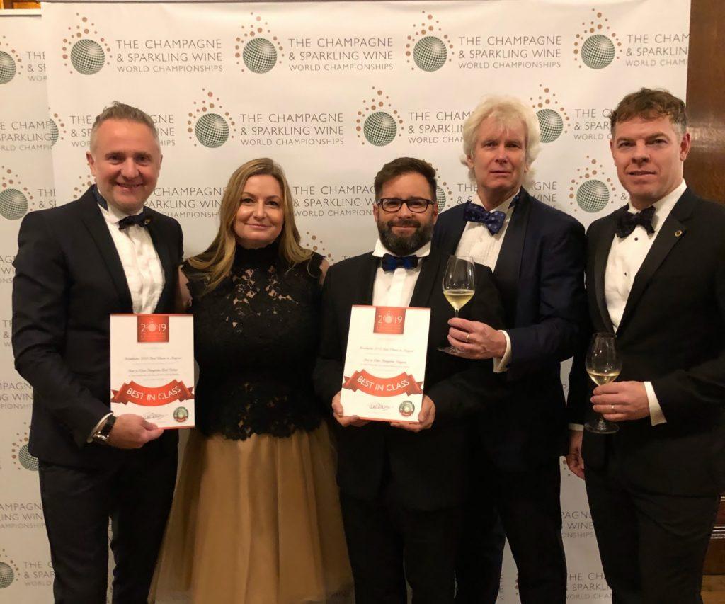 Kreinbacher, champagne, award, Hungary, competition