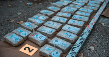Largest heroin seizure of the last 20 years