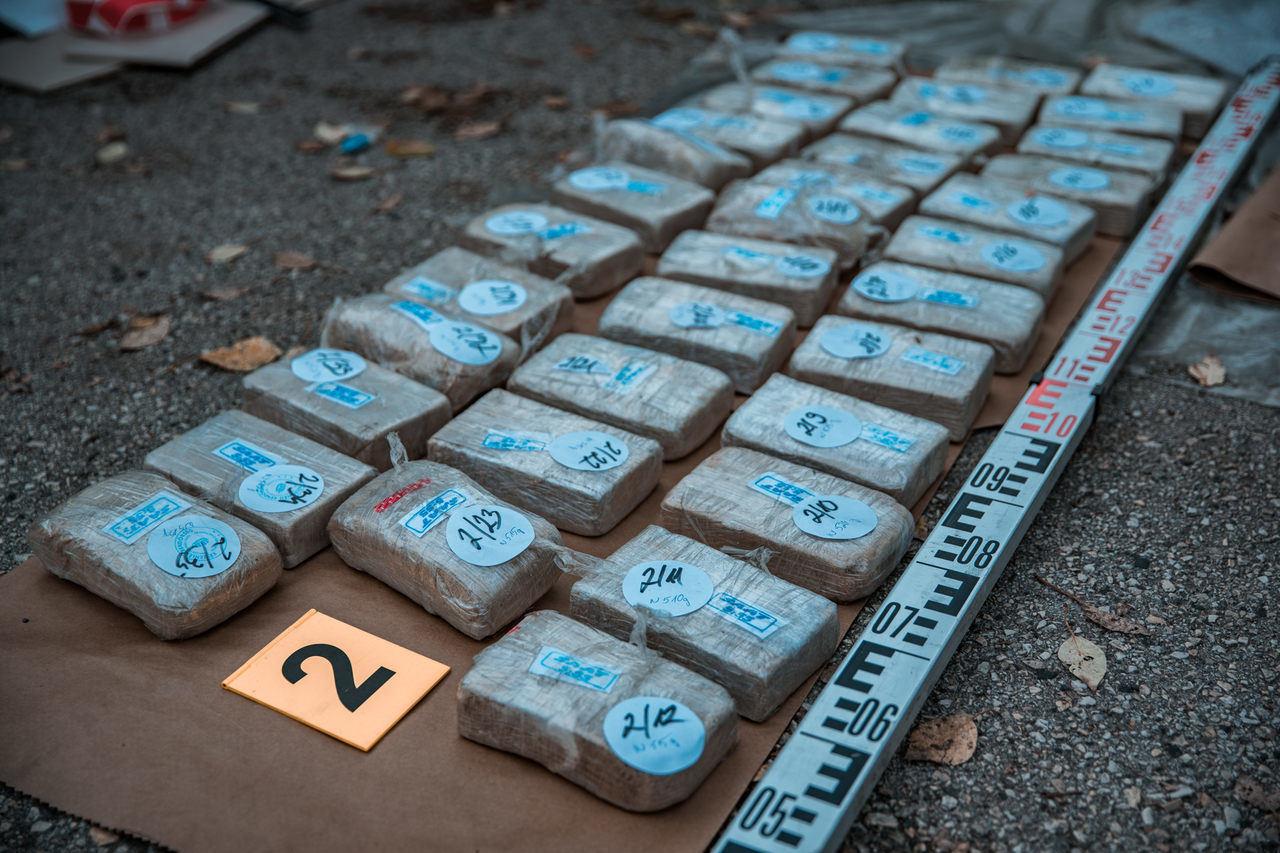 Largest heroin seizure of the last 20 years
