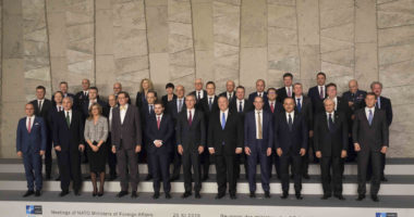 NATO foreign ministers in Brussels