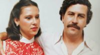 Pablo Escobar and his wife