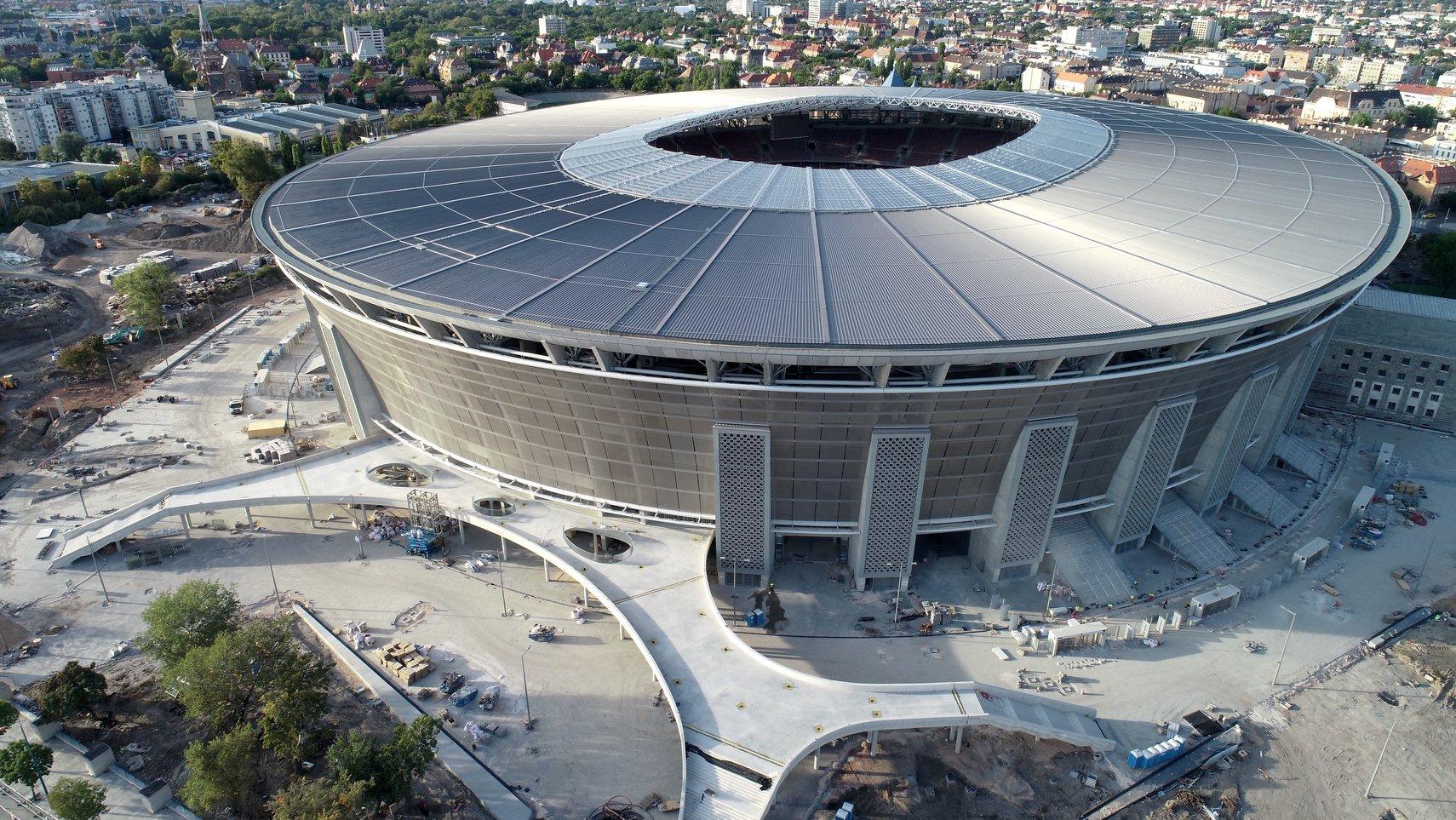 ผลการค้นหารูปภาพสำหรับ puskas arena budapest