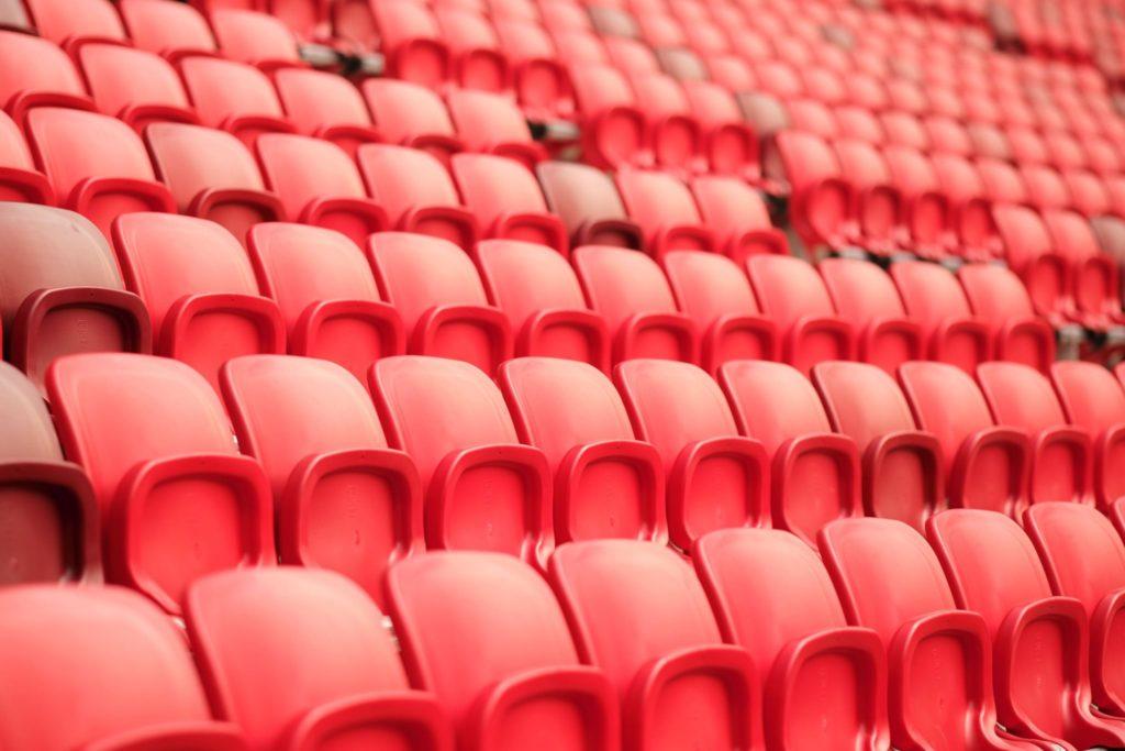 Puskás Arena, seats, Budapest, Hungary