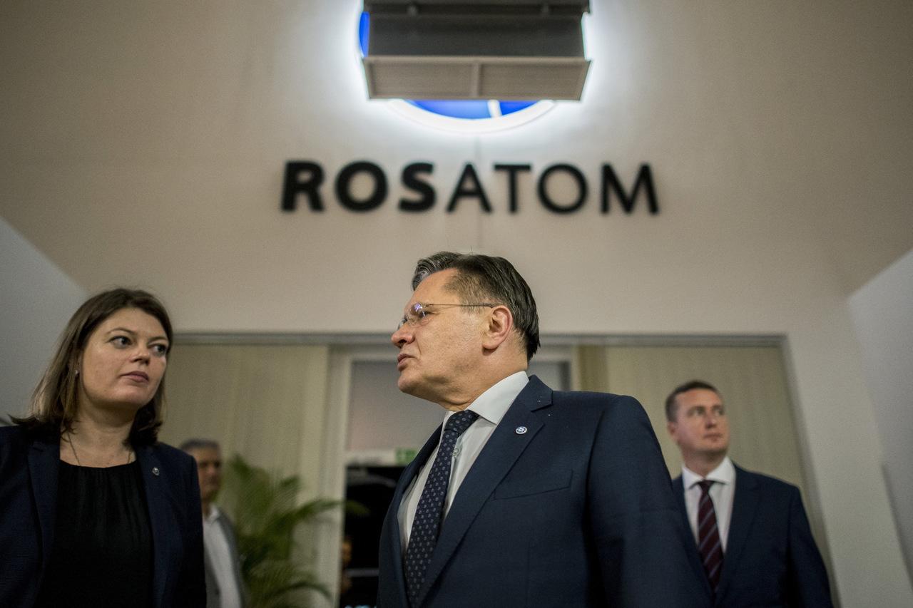Directeur général de Rosatom Alexey Likhachev