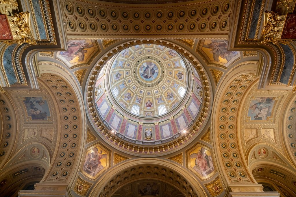 St. Stephen_s Basilica, Budapest, Interior, view, building