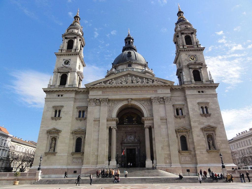 St. Stephen_s Basilica, Budapest, view, building