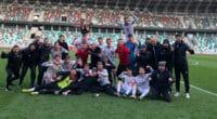 U17 football success
