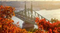 autumn liberty bridge