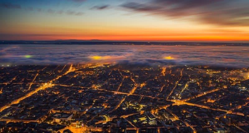 budapest in fog