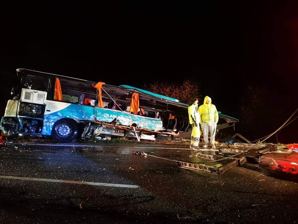 Hungary expresses sympathy over bus accident in Slovakia