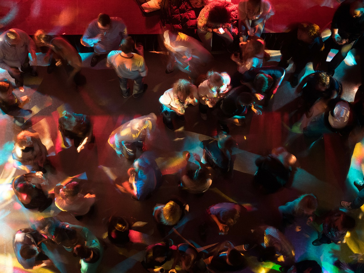 Nightclub fight in downtown Budapest