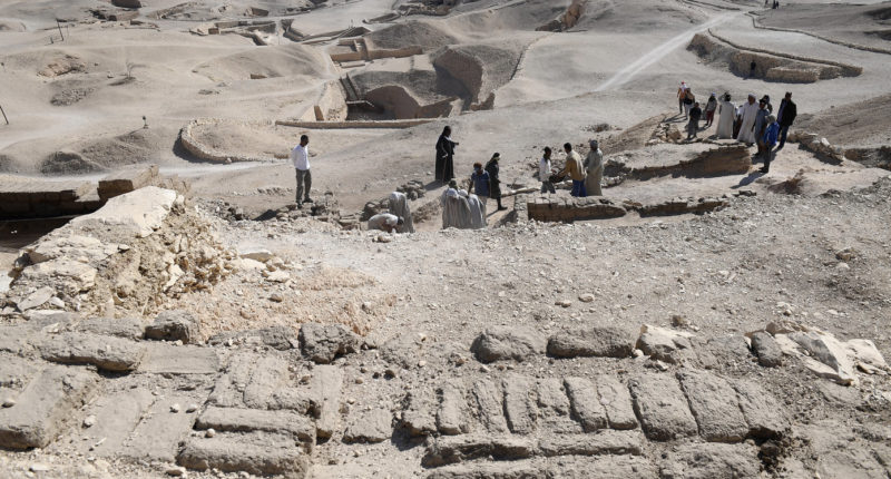 hungarian archaeologists in egypt