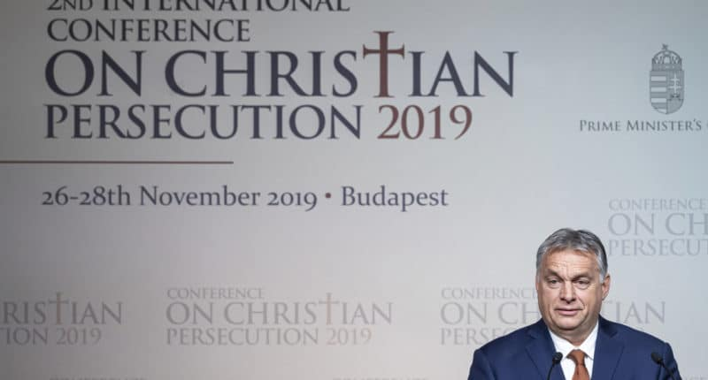 international conference on persecuted Christians orbán