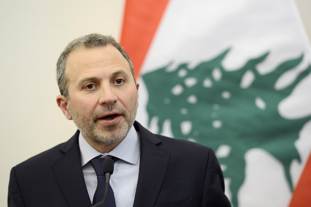 gebran bassil lebanon foreign minister
