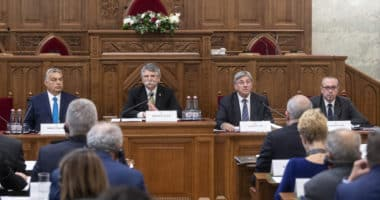 meeting of parliamentary speakers of southeast European countries