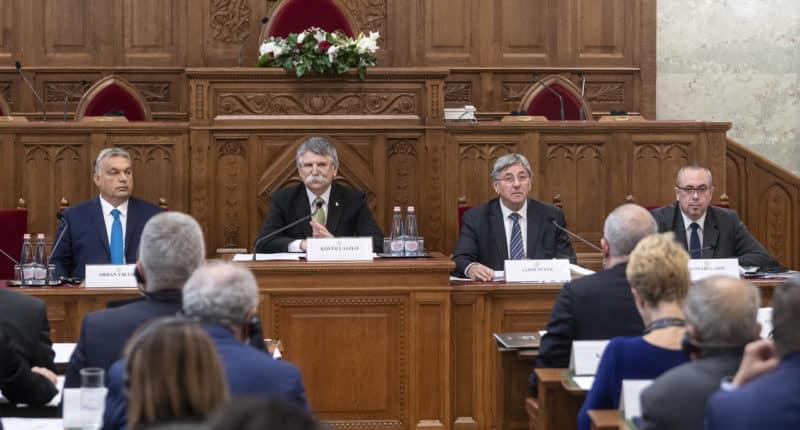 meeting of parliamentary speakers of southeast European countries