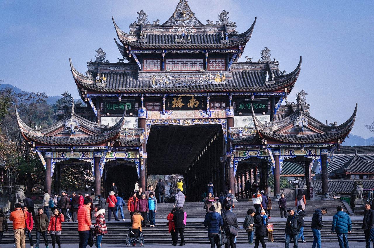 pagoda china tourism