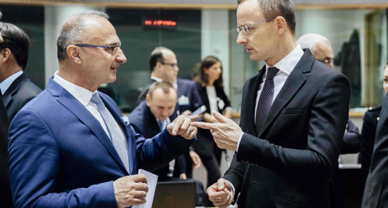 foreign minister in brussels