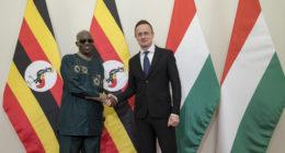 uganda hungary ministers