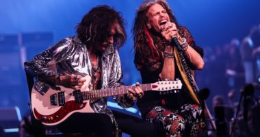 Aerosmith, concert, Hungary, Budapest