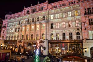 Budapest, Vörösmarty Square, Christmas, market, Gerbeaud