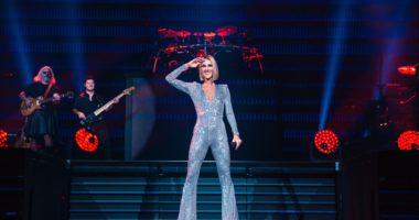Céline Dion, concert, Budapest, Hungary