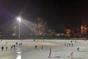 City Park, ice skating, Budapest, Hungary