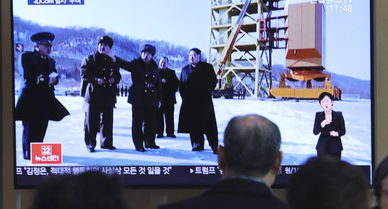#DPRK conducted a very important test at the Sohae Satellite Launching Ground