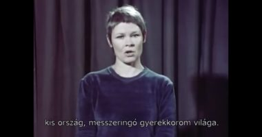 English actress Judi Dench recites Miklós Radnóti - VIDEO